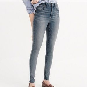 Abercrombie High Rise Simone Super Skinny Jeans